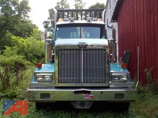 **Lot updated** 2000 Western Star 4900 Log Truck
