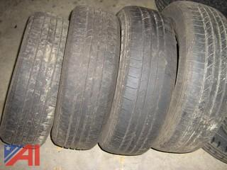 (4) used Goodyear Integrity  205/65/R15 Tires