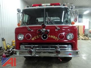 1977 Ford 900 Custom Cab Pumper Truck