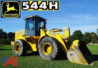 2003 John Deere 544H Articulated 4WD Wheel Loader