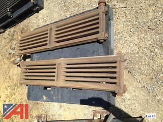 (2) Used Cast Iron Radiators