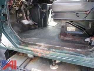 2000 International 2574 Dump w/ Plow, Wing & Sander