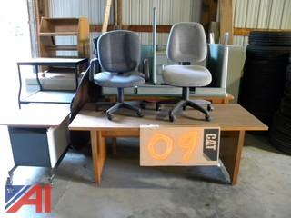Lot of Miscellaneous Furniture