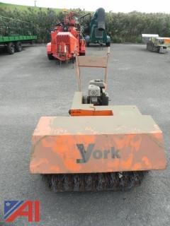 York Rakes YBWB3 Walk Behind Sweeper (#10)
