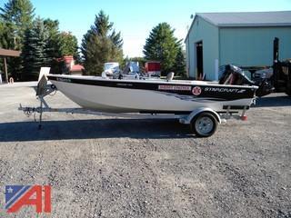 2007 Starfire 1700 Boat & Trailer