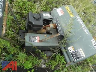 Sweepster Walk Behind Power Sweeper