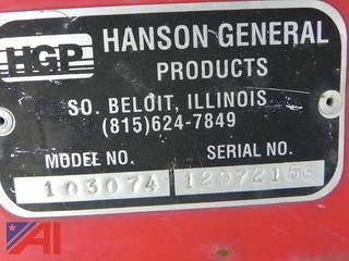 """Hanson 103074 PTO Driven 50"""" Snow Blower Attachment"""
