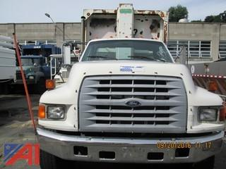 1998 Ford F800 Garbage Truck