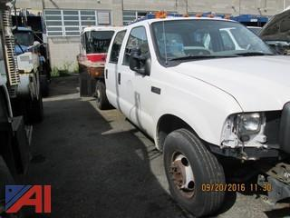 2004 Ford F350 SD Crew Cab and Chassis
