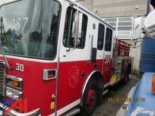 1998 Hendrickson Custom Fire Engine Pumper