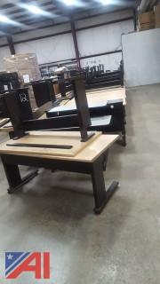 Assorted Computer Tables