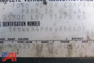 1989 Ford F800 Dump