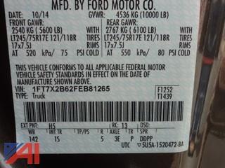 ** 4% BP** 2015 Ford F-250 Super Duty Pickup Truck