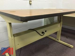 Lot of Computer and Printer Tables
