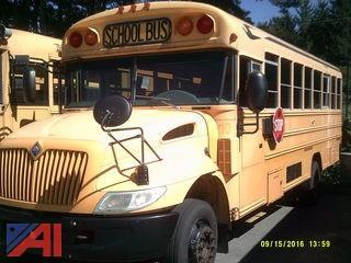 2005 International 3000 School Bus w/ Wheel Chair Lift