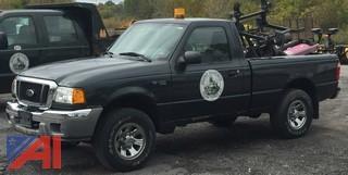 2005 Ford Ranger Pickup w/ Plow