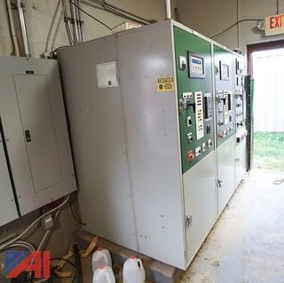 (2) Waukesha Enginator #VSG11G Natural Gas 113 KVA Generators With Control Bank
