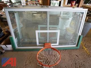 (6pc) Basketball Hoops