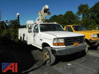 1996 Ford F-450SD Bucket Truck