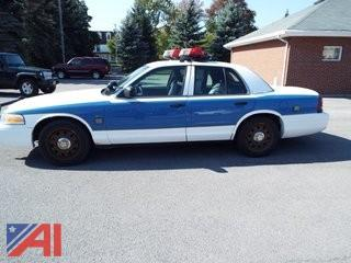2008 Ford Crown Victoria 4DSD/Police Interceptor