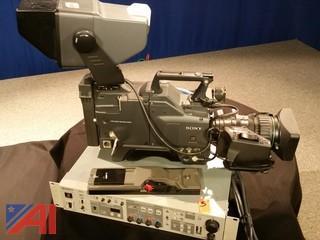 SONY DXC30 Video Camera, Studio Configuration