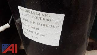 (2) Pallets of Assorted Heavy Duty Culvert Screws