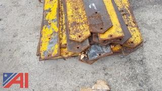 Assorted Plow Blades for a V Nose Plow and More