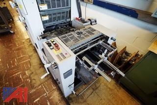 Hamada H234A 2 Color Offset Press
