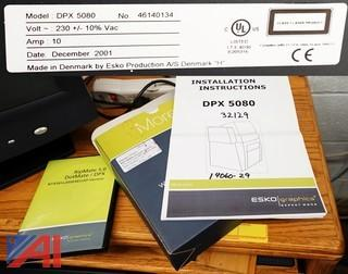 Esko DPX 5080 System Imagesetter With RIP Software