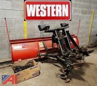 2012 Western 71/2' Plow W/ UltraMount/Wire Harness & Control