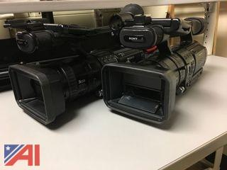 (2) SONY Camcorders