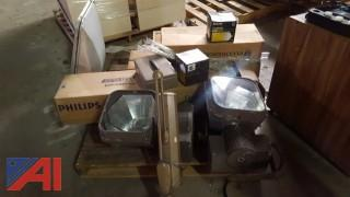 Lot of Assorted Lighting Equipment