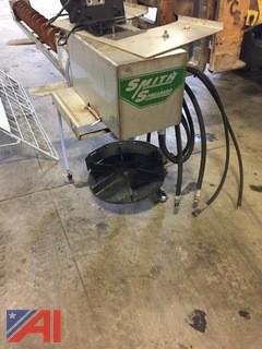 Smith Stainless Steel Dump Box Auger Spreader