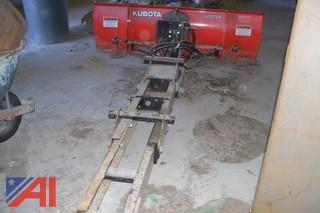 Kubota 6' Snow Plow Blade with Undercarriage