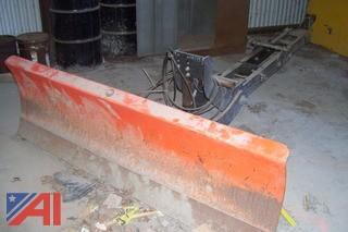 Kubota 6' Snow Plow Blade with Undercarriage
