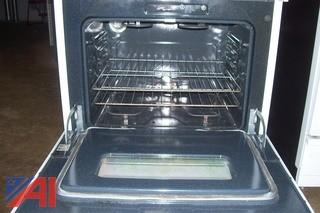 GE Electric Microwave and Stove