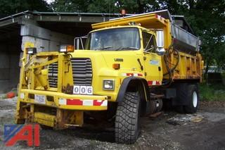 1995 Ford L9000 Dump with Slide in Spreader Body