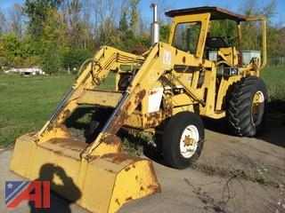 1970 International Tractor Backhoe