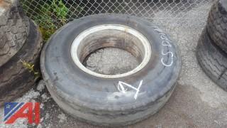 Goodyear Tire on Rim