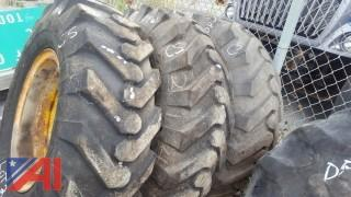 (3) Goodyear Tires on Rims