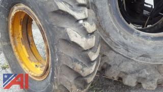(1) Caterpillar Tire