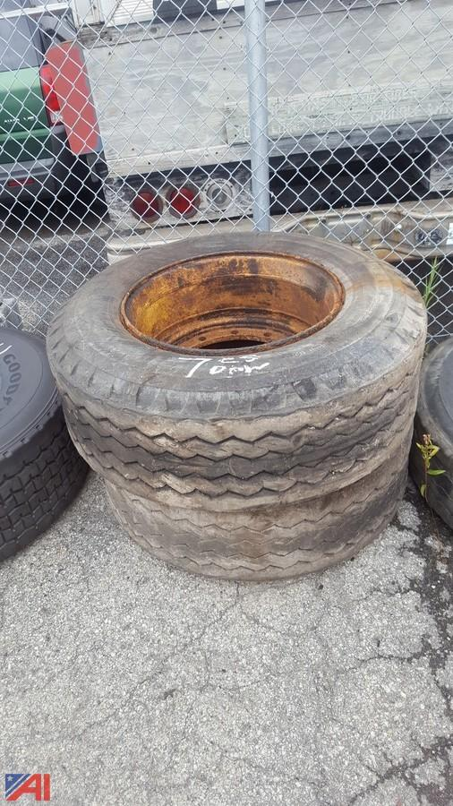 City of Syracuse DPW Surplus Tires #9127
