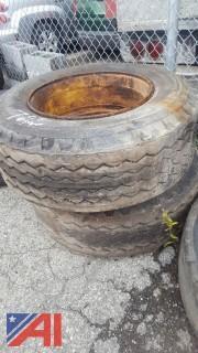 (2) Goodyear Tires