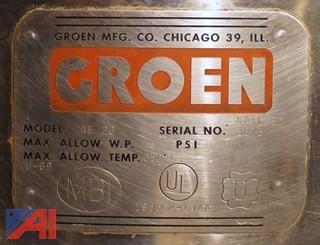 Groen  AE-20, 20 Gallon Jacketed Kettle