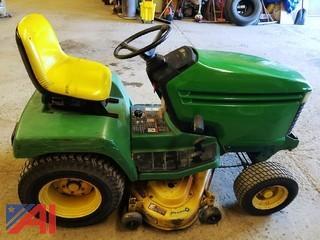 "John Deere 325 44"" Riding Tractor Mower"