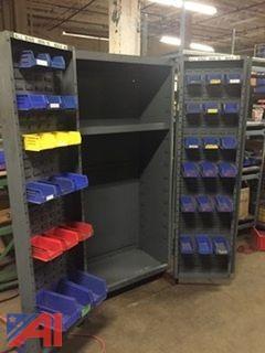 Akro Bin Parts Cabinet