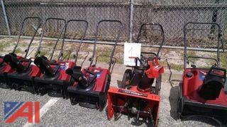 (6) Snow Blowers and (1) Pressure Washer
