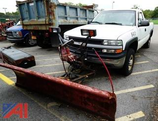 2000 Chevy Silverado 2500 4WD Pickup Truck With Western Plow